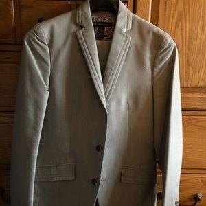Mens three piece suit.